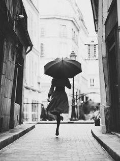 dancing and singing in the rain