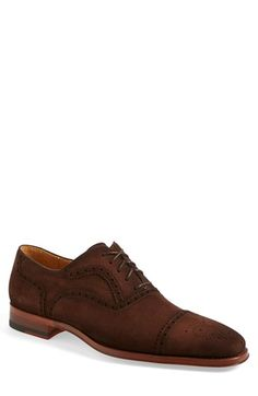 Magnanni 'Riley' Cap Toe Oxford (Men) available at #Nordstrom