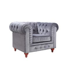 Madison Home USA Chesterfield Club Chair & Reviews | Wayfair 323.99