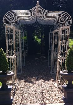 New wedding arch Fairytale Weddings, North Yorkshire, Fairy Tales, Pergola, Arch, Outdoor Structures, Places, Longbow, Outdoor Pergola