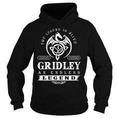 I Love GRIDLEY ENDLESS LEGEND T shirts