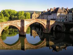 Pont Vieux at Espalion, Aveyron, France