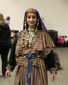 Ouled Nail traditional dress