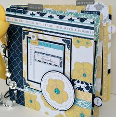 New Mini Album using Teresa Collins Everyday Moments by Cheri Piles