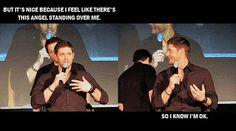 Jensen Ackles & Misha Collins  lol