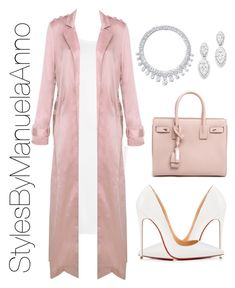 """""""Untitled #160"""" by stylesbymanuelaanno on Polyvore featuring WearAll, Christian Louboutin, Yves Saint Laurent, Harry Winston and Bloomingdale's"""