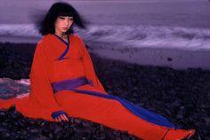 Sayoko Yamaguchi.  Japanese fashion model, fashion designer  (September 19, 1949~August 14, 2007)