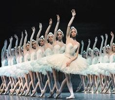 "I love these white tutus from the Paris Opera Ballets' ""Swan Lake"" I love when all the swans dance together. beautiful Ballet x Tutu Ballet, Ballet Dancers, Ballerinas, Ballet Art, Swan Lake Ballet, Ballet Pictures, Paris Opera Ballet, Shall We Dance, Ballet Photography"