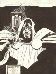 Doctor Doom by Mike Mignola