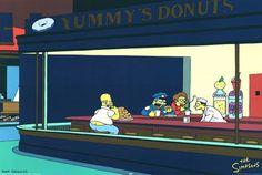 Nighthawks: The Simpson's 1