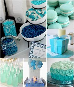 Something Blue Bridal Shower