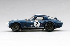 Chevrolet Corvette Grand Sport (Sebring 12 Hours)   1:43 Scale Model Car by TSM   Front Quarter