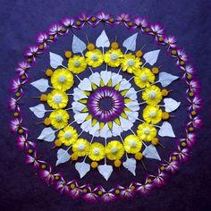 1393957267 2 640x640 Beautiful Flower Mandalas by Kathy Klein