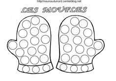 coloriage a gommettes - Page 5                                                                                                                                                                                 Plus Christmas Printables, Christmas Crafts, Diy For Kids, Crafts For Kids, Do A Dot, Yarn Dolls, Beginning Of The School Year, Winter Activities, Coloring Pages For Kids