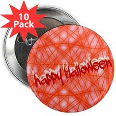 "happy Halloween 2.25"" Button (10 pack) > Halloween > MehrFarbeimLeben Halloween 2, Buttons, Plugs"