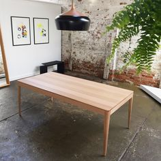 Taper table and Coco pendant by Coco flip
