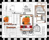 October Activity Pack product from Think-Wonder-Teach on TeachersNotebook.com