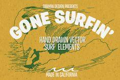 GONE SURFIN' Vol 1 by Sibayan.Design on Creative Market