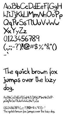 Doodle Font | 2016 special design Fonts | Doodle fonts ...