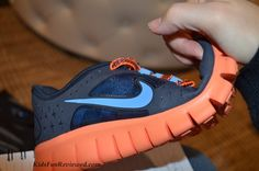 Nike Free 5.0 flexible sole perfect for running