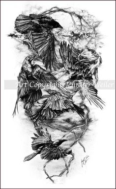 Raven Night by *lions-nd-yellocake on deviantART