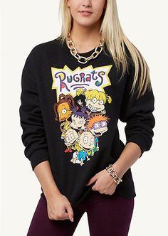 Rugrats Sweatshirt | Rugrats Sweatshirt | Get Graphic | rue21