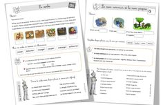 Leçons de grammaire Rseeg en CE1 remises à jour | Bout de Gomme French Grammar, French Resources, Teaching French, Spelling, Bullet Journal, Manon, French Immersion, Grand Canal, Grade 3