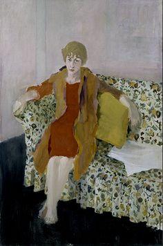"""Fairfield Porter's """"Elaine de Kooning"""" (1957)"""