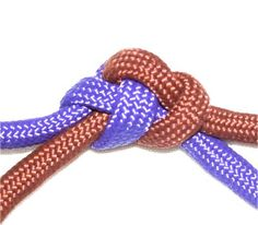"""The Linked Overhand Knots described                         on this page   are considered """"connection knots"""". This means their primary purpose is to  link two cords together. They all have a raised appearance and are sometimes used to decorate cords instead of beads"""