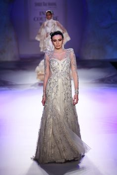 Gown by Gaurav Gupta at ICW 2014 #icw2014