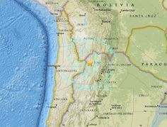 A strong but deep earthquake has struck northern Argentina, but there are no immediate reports of damage. The 6.7-magnitude earthquake struck northeastern of the Chile border on Wednesday, the US Geological Survey said.