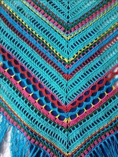 Haakpakket Pippy Rose Sjaal | Bij Tante Roos