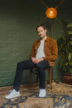 Bill Hader Connects with Esquire, Talks 'Barry' Season 2 Bill Hader 2019 Esquire Photo Shoot Bill Harder, Snl Cast Members, Mom Jokes, John Mulaney, The Fashionisto, Saturday Night Live, Poses, Celebs, Celebrities