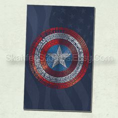 Captain America Movie Poster -Print Only