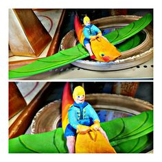 Flying boy mobile