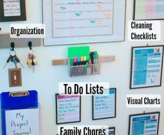Organisation Command center 3 Should You Choose A Window Awning? Office Organization At Work, Diy Organisation, Organization Station, Organizing Life, Organising, Bathroom Organization, Family Organization Wall, Organizing Ideas, Office Ideas