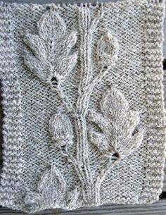 Knitting Pattern Oak Leaf : 1000+ images about Knitting patterns/tips on Pinterest Knitting, Knitting s...