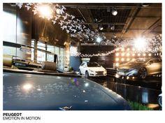 Peugeot - Emotion in motion #Techno #design #flagship