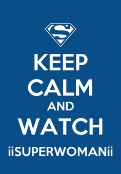 Just keep calm (she is on YouTube) (iisuperwomenii)