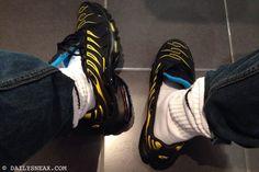 day 143: Nike TN Air Max Plus #nike #tn #niketn #airmaxplus #nikeairmaxplus #sneakers - DAILYSNEAX