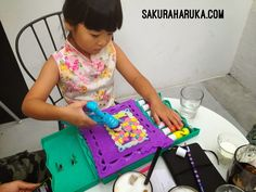 Indoor Play Activity Ideas: Doh Vinci DIY Kids Craft Kits - Playing with Anywhere Art Studio Kit | #singapore #kids #review #dohvinci #hasbro #playdoh #diy #crafts #familytime #play #playideas #playdough
