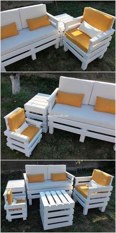 Implausible DIY Wood Pallet Furniture Ideas and DesignsThanks for this post.Adding a modern and creative piece of the couch set and table outdoor creation in the house will no doubt be beneficial adequate in grabbing the interest # Designs Pallet Furniture Designs, Pallet Garden Furniture, Diy Furniture Couch, Diy Outdoor Furniture, Diy Furniture Projects, Diy Pallet Projects, Furniture From Pallets, Wood Projects, Garden Pallet