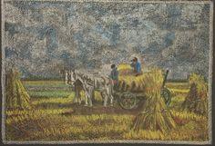 At the Grain Harvest   Flickr - Photo Sharing!