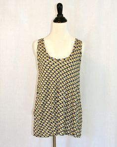 Joie Giacinta Tank. This cotton tank actually is made up of small elephants.