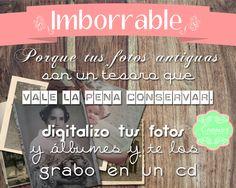 Imborrable - Digitalización de fotos