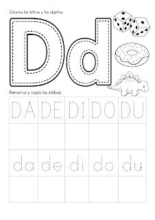 Preschool Spanish Lessons, Spanish Classroom Activities, English Activities, Learning Spanish, Free Preschool, Preschool Activities, Teaching Kids, Kids Learning, Free Printable Alphabet Worksheets