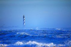 #Hatteras #Lighthouse from the #Sea! http://www.roanokemyhomesweethome.com