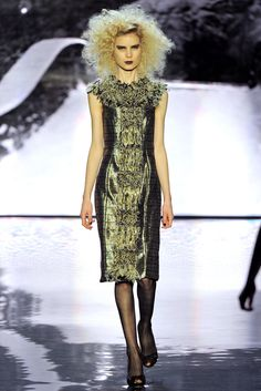 Badgley Mischka Fall 2012 Ready-to-Wear Collection Slideshow on Style.com