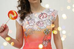 """Candy"" dress by ZIBtextile $60.00"