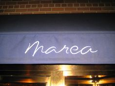 Chef Michel White at Marea in NYC.